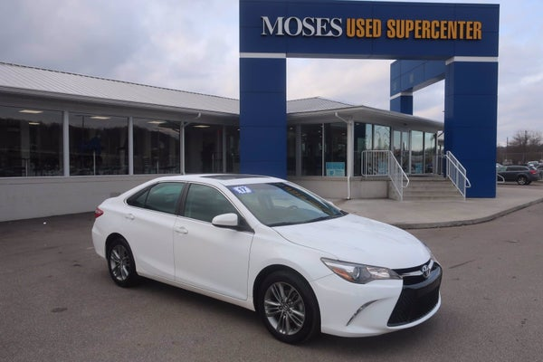White Toyota Camry >> 2017 Toyota Camry St Albans Wv Area Toyota Dealer Serving St